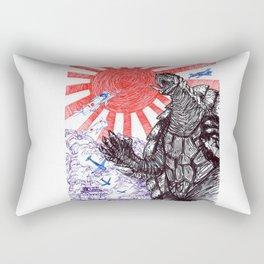 Attack of Gamera! Rectangular Pillow