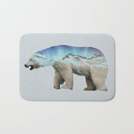 The Arctic Polar Bear Bath Mat