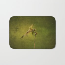 4-Spotted Skimmer Dragonfly Bath Mat