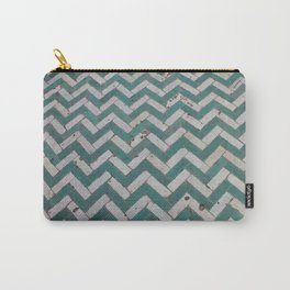 Chevron Tiles Carry-All Pouch