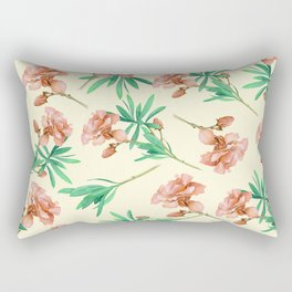 Tropical Oleander Rectangular Pillow