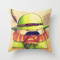 Mexalpinouboy Throw Pillow