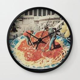 Diggin Wall Clock
