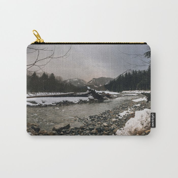 Snoqualmie River Carry-All Pouch