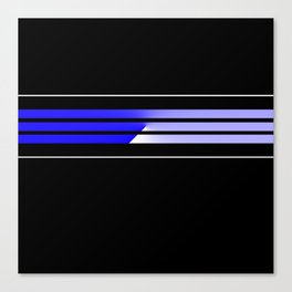 Team Colors 5...Blue Canvas Print