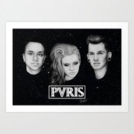 Pvris Art Print