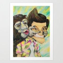 Celebrity Pet Art Print