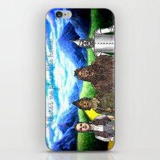 No Place Like Home Wizard Oz Art iPhone & iPod Skin
