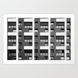 Surface Tension: 14 Fortrose Street Art Print