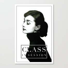 Class in Session Canvas Print
