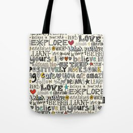 positively awesome Tote Bag