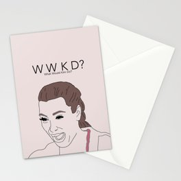 WWKD? Stationery Cards