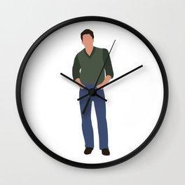 Jake Ryan Sixteen Candlesmovie Wall Clock