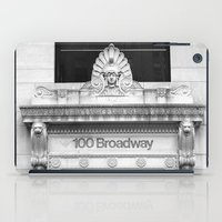 broadway iPad Cases featuring 100 Broadway by Jon Cain