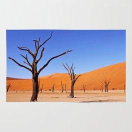 Dead Vlei XI, Namibia Rug