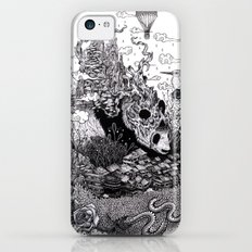 Land of the Sleeping Giant (ink drawing) Slim Case iPhone 5c