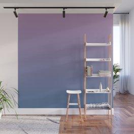 Gradient Dawn Pink Purple Blue Wall Mural