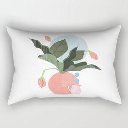 Love and plants Rectangular Pillow