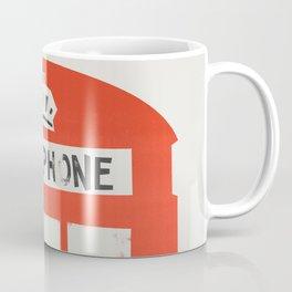 Red London Telephone Box Coffee Mug