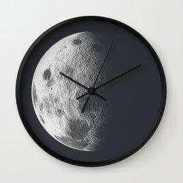 Moon Poster Wall Clock