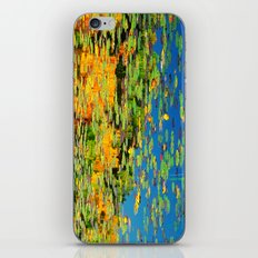 Lilly pond in the style of Monet iPhone & iPod Skin