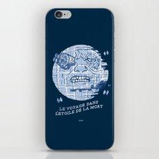 Le Voyage Dans L'Etoile De La Mort iPhone & iPod Skin