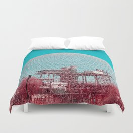 Surreal Montreal #6 Duvet Cover