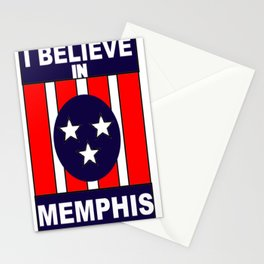 I believe in Memphis Stationery Cards