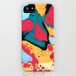 Marble texture 8 iPhone Case