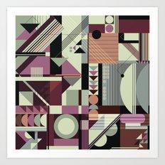 Pattern N0.1 Art Print