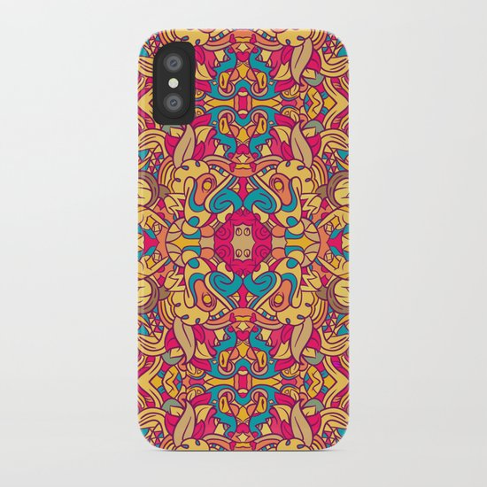 Eye Of The Beast Pattern iPhone Case