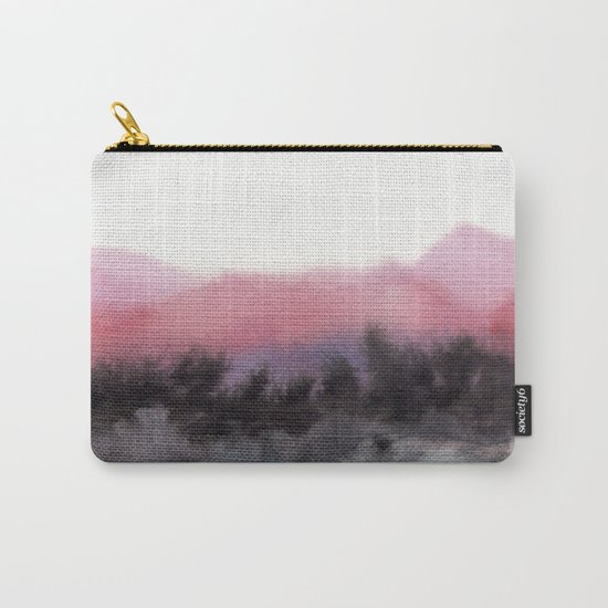 Watercolor abstract landscape 10 Carry-All Pouch