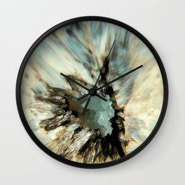 Crystal Abstract Wall Clock