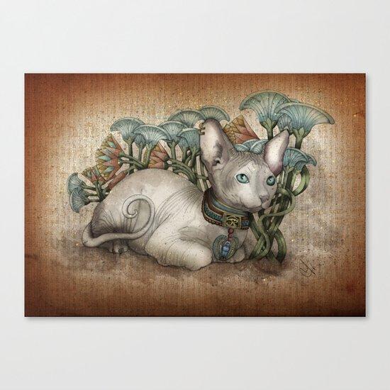 Bastet Canvas Print