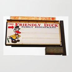 The Friendly Duck Restaurant Rug