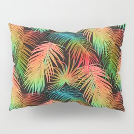 Colorful Palm Leaves 2 Pillow Sham