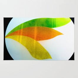 Colourful geometric design Rug
