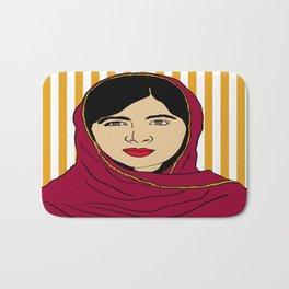 Malala Yousafzai  Bath Mat