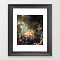 The Lizard Swing Framed Art Print