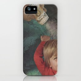 Olympia Kid iPhone Case