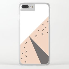 The Watermelon Abstract Clear iPhone Case