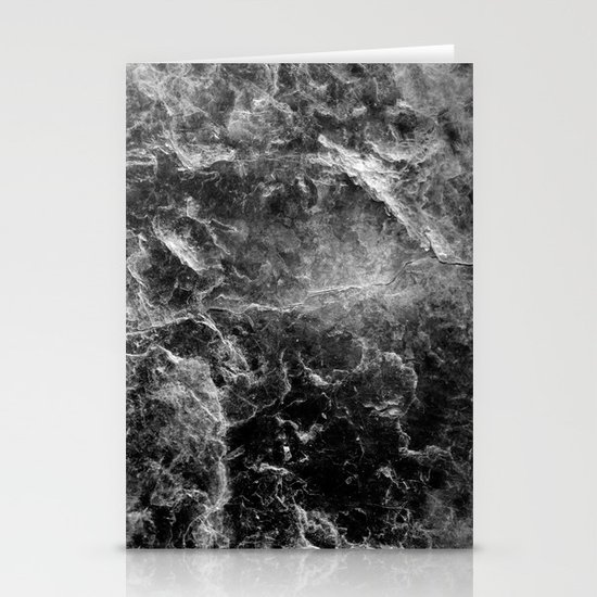Enigmatic Black Marble #1 #decor #art #society6 by anitabellajantz