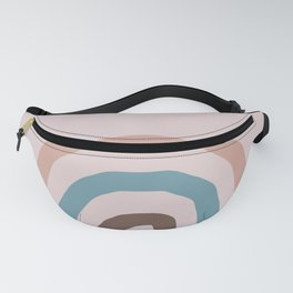 Pink and Blue Rainbow | pencilmeinstationery.com Fanny Pack
