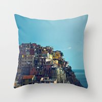 italy Throw Pillows featuring Italy by Rupert & Company