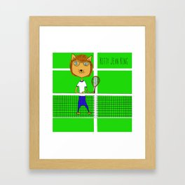Kitty Jean King Framed Art Print
