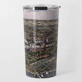 The City Of Washington - Birds-Eye View Travel Mug