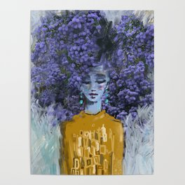 California Lilac Poster