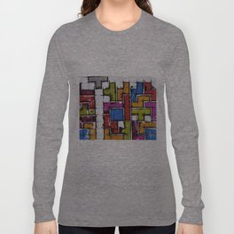 Life as Tetris Long Sleeve T-shirt