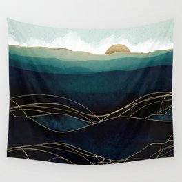 Indigo Waters Wall Tapestry
