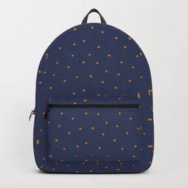 Golden Lichen Dots Backpack